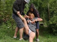 Oma in park verkracht
