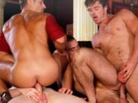 Top gaysex film gevonden van geile homo orgie!