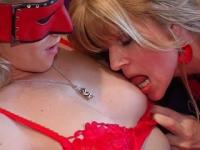 Lesbische sexfilm met Kim Holland